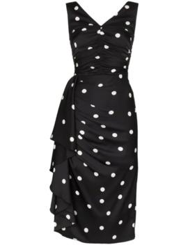 Gepunktetes Kleid by Dolce & Gabbana