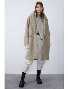 Oversized BouclÉ Coat by Zara