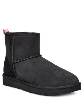 Classic Mini Ii Graphic Logo Boots by Ugg