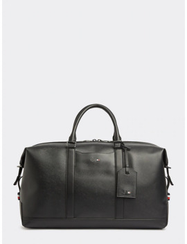 Mercedes Benz Leather Duffel Bag by Tommy Hilfiger