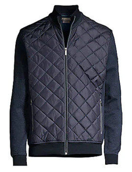Quilted Full Zip Jacket by Bugatti