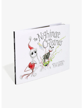 The Nightmare Before Christmas 20th Anniversary Book by Box Lunch
