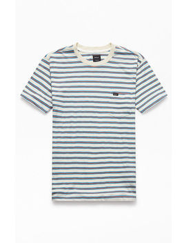Rvca Vicent Striped T Shirt by Pacsun