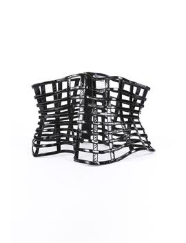 Peplum Cage Belt by Alexander Mc Queen