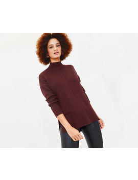 Turtle Neck Knit Jumper by Oasis