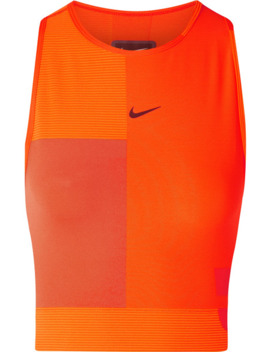 Tech Pack Cropped Cutout Pro Hyper Cool Top by Nike