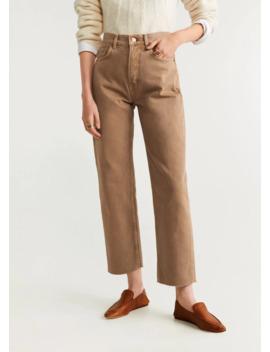 Straight Regular Jeans by Mango