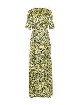 Adelita Silk Jacquard Wrap Dress by Baum Und Pferdgarten
