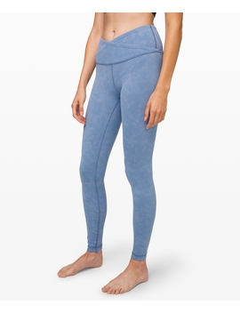 """Always On High Rise Washed Tight 28"""" Everlux by Lululemon"""