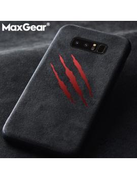 Max Gear Soft Suede Fur Cover Case For Samsung Galaxy S7 Edge S8 S9 S10 Plus S10 E Note 8 9 Brand Car Leather Phone Cases Couqe by Ali Express.Com