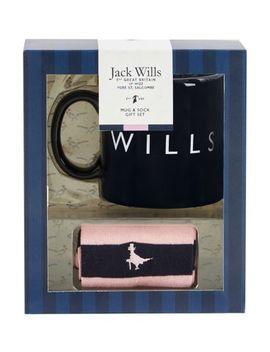 Jack Wills Mug & Socks Gift Set by Jack Wills
