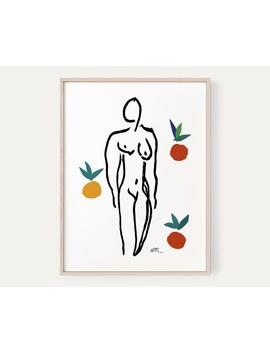 Nude With Oranges Art Print By Henri Matisse, Instant Download by Etsy
