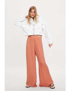 Flowing Wide Leg Trousers by Zara