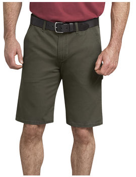 "11"" Tough Max™ Duck Carpenter Shorts by Dickies"