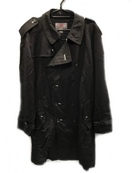 Coat Black H&M Trench 70 527 Kj by Comme Des Garcons  ×  H&M  ×