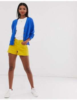 Polo Ralph Lauren – Oversize Strickjacke Aus Wolle Mit Logo by Asos