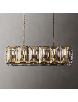 "Harlow Crystal Rectangular Chandelier 42"" by Restoration Hardware"