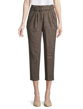 Larsen Houndstooth Cropped Pants by Astr The Label
