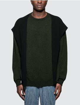 Shoulder Sleeve Sweater by Loewe