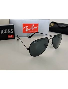 Ray Ban Aviator Black || Mens/Unisex Sunglasses || 58mm 🕶 by Ray Ban