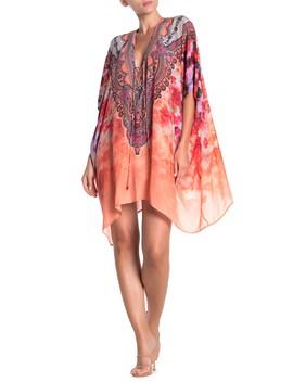 Convertible 4 Way Lace Up Caftan Dress by Shahida Parides