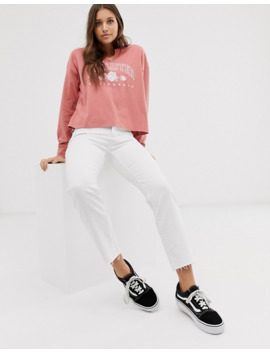 Hollister Long Sleeve T Shirt In Blush by Hollister