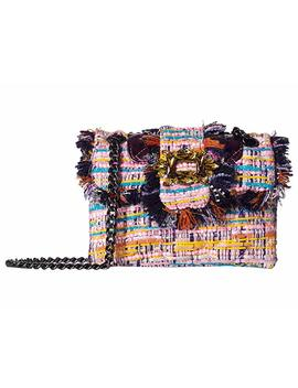 Tweed Mini Mayfair Crossbody by Kurt Geiger London