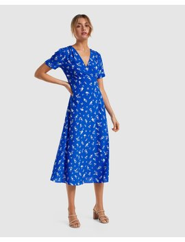 Wendy Printed Midi Dress by Forever New