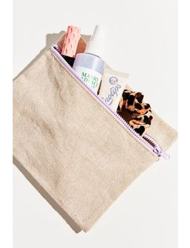 Sustainable Hemp Cosmetic Case by Urban Outfitters