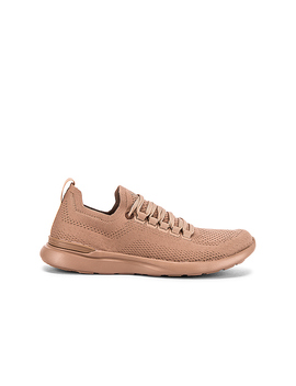 Tech Loom Breeze Sneaker In Almond by Apl: Athletic Propulsion Labs