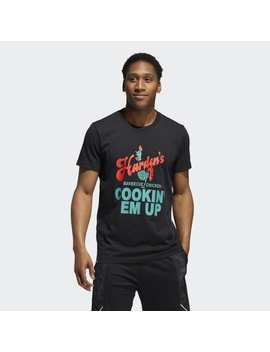 Harden Swagger Art Graphic Tee by Adidas