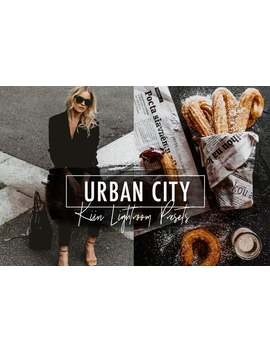 6 Urban City Lightroom Mobile & Desktop Presets / Moody Male Blogger Preset by Etsy