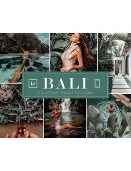 5 Moody Bali Mobile Lightroom Presets Mobile • Instagram Dark Tropical Beach Summer Blogger Travel Filter • Vsco Jungle Nature Photo Editing by Etsy
