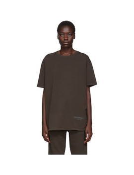 Khaki Boxy T Shirt by Essentials