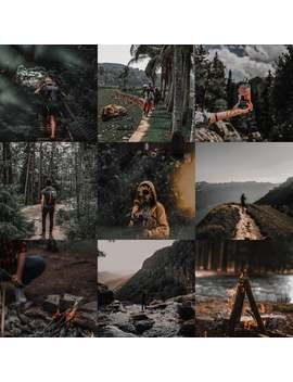 On Sale   5 Best Dark Lightroom Preset/ F Lightroom For Mobile And Desktop/ Lightroom Presets/ Instagram Presets by Etsy