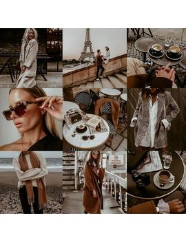 Vintage Paris Lightroom Mobile Presets / Gingerbread Autumn Instagram Blogger Preset Filter by Etsy