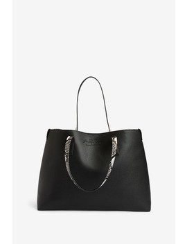 Superdry Black Freya Tote by Next