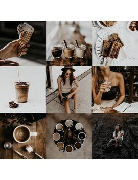Lightroom Mobile Coffee Minimal Style Presets / Neutrals Filter by Etsy