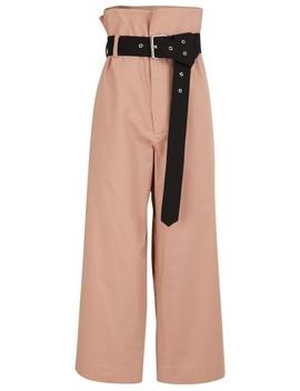 Poplin Pants by Plan C