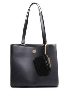 Medium Logo Work Tote by Anne Klein