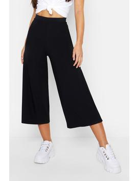 Jupe Culotte Coupe Large Petite by Boohoo