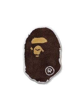 Bape Ape Head Rug Brown by Stock X