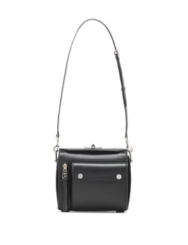 Military Box Leather Shoulder Bag by Alexander Mc Queen