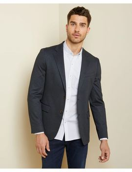 Slim Fit Stretch Blazer by Rw & Co