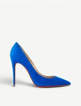 Kate 100 Veau Velours by Christian Louboutin