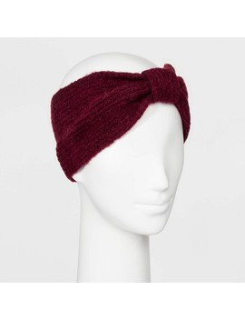 Women's Rib Stitch Knit Headband   A New Day™ by A New Day