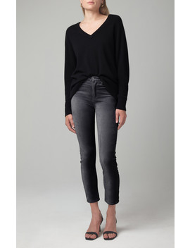 Harlow Ankle Mid Rise Slim In Cosmic Grey by Citizens Of Humanity