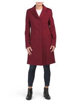 Virgin Wool Coat by Tj Maxx