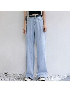 Dree   High Waist Wide Legged Jeans by Dree