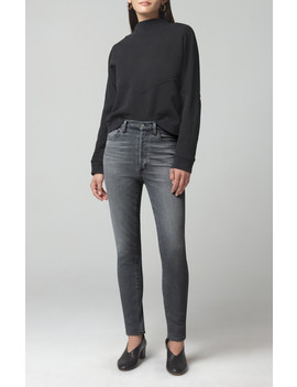 Olivia High Rise Slim In Granite by Citizens Of Humanity